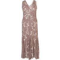Chesca Ombre Cornelli Dress, Mink
