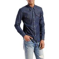 Levis Barstow Western Denim Shirt, Indigo