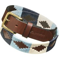 Pampeano Leather Polo Belt, Sereno