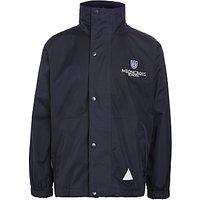 Meoncross School Storm Coat, Navy