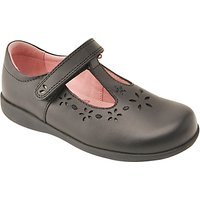 Start-rite Charlotte Leather Shoes, Black