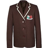 The Hertfordshire and Essex High School Girls Blazer, Brown