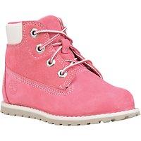Timberland Childrens Pokey Pine 6 Chukka Boots, Pink