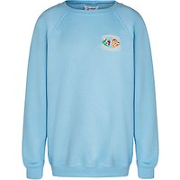 The Hertfordshire and Essex High School Girls Sweatshirt, Sky Blue