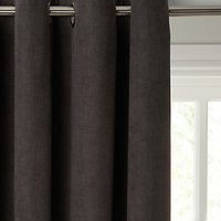 John Lewis Hatch Chenille Lined Eyelet Curtains