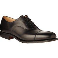 Churchs Dubai Leather Oxford Shoes, Black