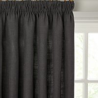 John Lewis Linen Blend Lined Pencil Pleat Curtains