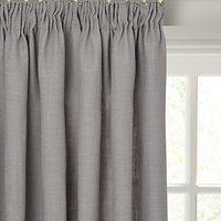 John Lewis Linen Blend Lined Pencil Pleat Curtains