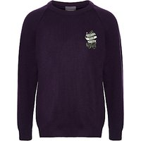 Parkgate House School Unisex Pullover, Purple