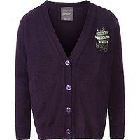 Parkgate House School Girls Cardigan, Purple