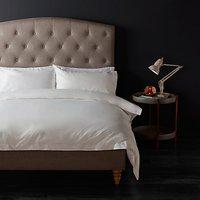 John Lewis 1200 Thread Count Cotton Bedding, White