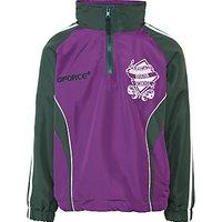 Parkgate House School Tracksuit Top, Purple/Green