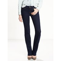 Levis 714 Mid Rise Straight Jeans, Lone Wolf