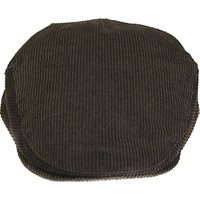 Barbour Cord Flat Cap, Olive