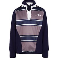 Marylebone Boys School Rugby Shirt, Navy/Grey