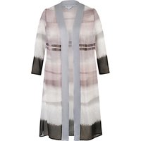 Chesca Mink Satin Trim Coat
