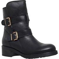 Kurt Geiger Richmond Leather Low Heel Ankle Boots, Black