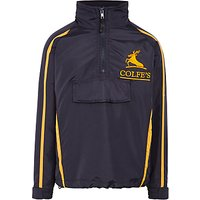 Colfes School Tracksuit Top, Navy Blue/Yellow