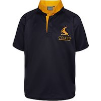 Colfes School Rugby Short Sleeved Beardwood House Jersey, Navy