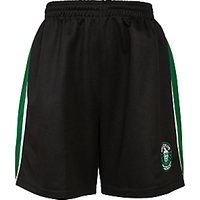 Bellerive FCJ Catholic College Sport Shorts, Black/Green