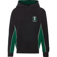 Bellerive FCJ Catholic College Hooded Sweatshirt, Black/Green