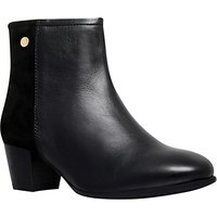 Carvela Comfort Rani Block Heeled Ankle Boots, Black Leather
