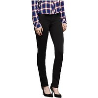 J Brand Maria High Rise Skinny Straight Jeans, Seriously Black