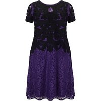 Studio 8 Kendra Tapework Dress, Purple