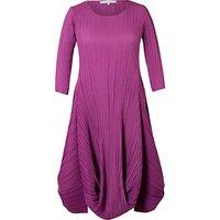 Chesca Crush Pleat Crepe Dress