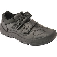 Start-rite Childrens Warrior Rip-Tape Shoes, Black