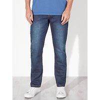 John Lewis Maida Vale Laundered Denim Slim Jeans