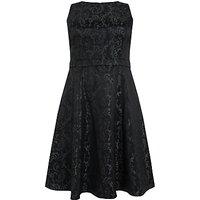 Studio 8 Jacquard Adeline Dress, Green/Black