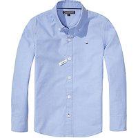 Tommy Hilfiger Boys Oxford Shirt, Light Blue