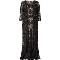 Studio 8 Cara Lace Maxi Dress, Black