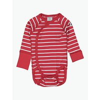 Polarn O. Pyret Baby Stripe Wraparound Bodysuit