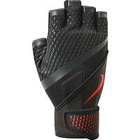 Nike Destroy Fitness Gloves, Black/Red