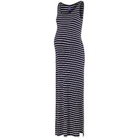 Sraphine Magda Maternity Stripe Maxi Dress, Navy/White