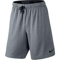 Nike 20.5cm Dri-FIT Fleece Training Shorts, Cool Grey