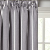 John Lewis and Partners Padstow Stripe Pair Lined Pencil Pleat Curtains
