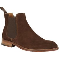 John Lewis Chester Suede Chelsea Boot, Brown