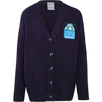 Oakgrove School Cardigan, Navy