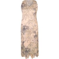 Chesca Lace Crush Pleat Dress