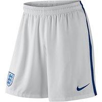 Nike England Stadium Football Shorts, White