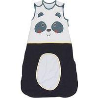Grobag Baby Panda-Modium Sleep Bag, Black/White