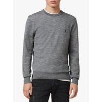 AllSaints Mode Crew Jumper, Grey