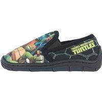 Teenage Mutant Ninja Turtles Baby Soft Grip Slippers, Black