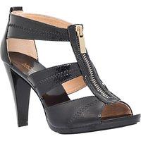 MICHAEL Michael Kors Berkley Zip Front High Heel Sandals