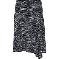Betty Barclay Printed Skirt, Dark Blue/White