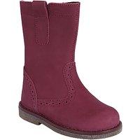 John Lewis Children's Isobel Boots, Fuxia Pink