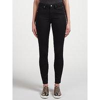 Calvin Klein High Rise Sculpted Skinny Jeans, Infinite Black Stretch
